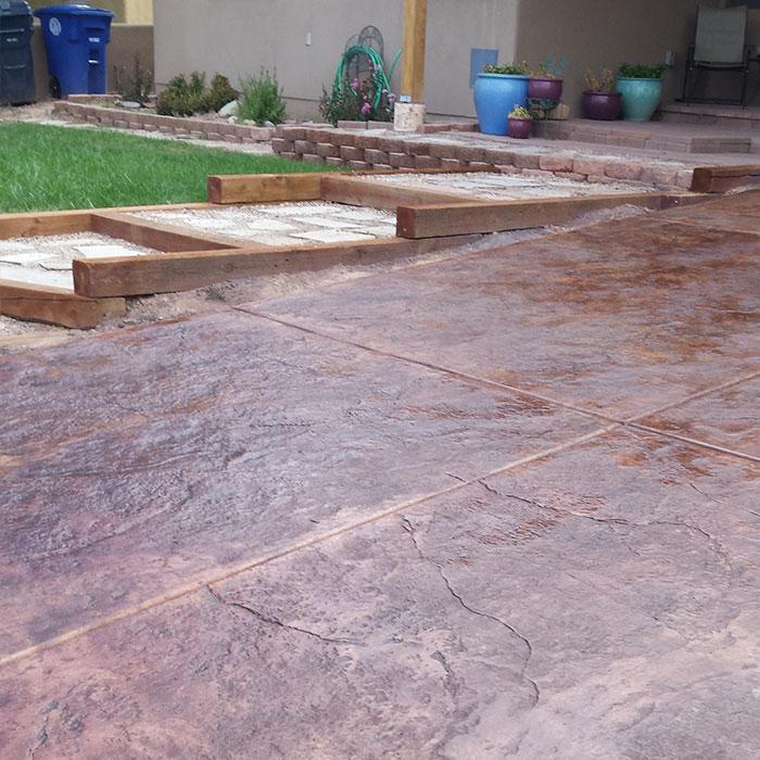 Albuquerque Stamped Concrete